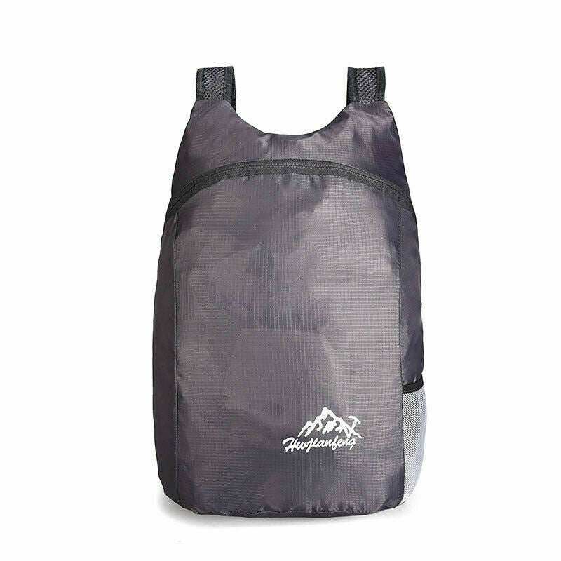 Foldable Waterproof Travel Hiking Backpack Bag Ultra Lightweight Nylon Daypack