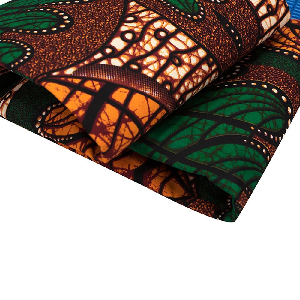 African Bohemian Fabric African Wax Fabric DIY Sewing Clothing Bags Handcraft Ethnic Material