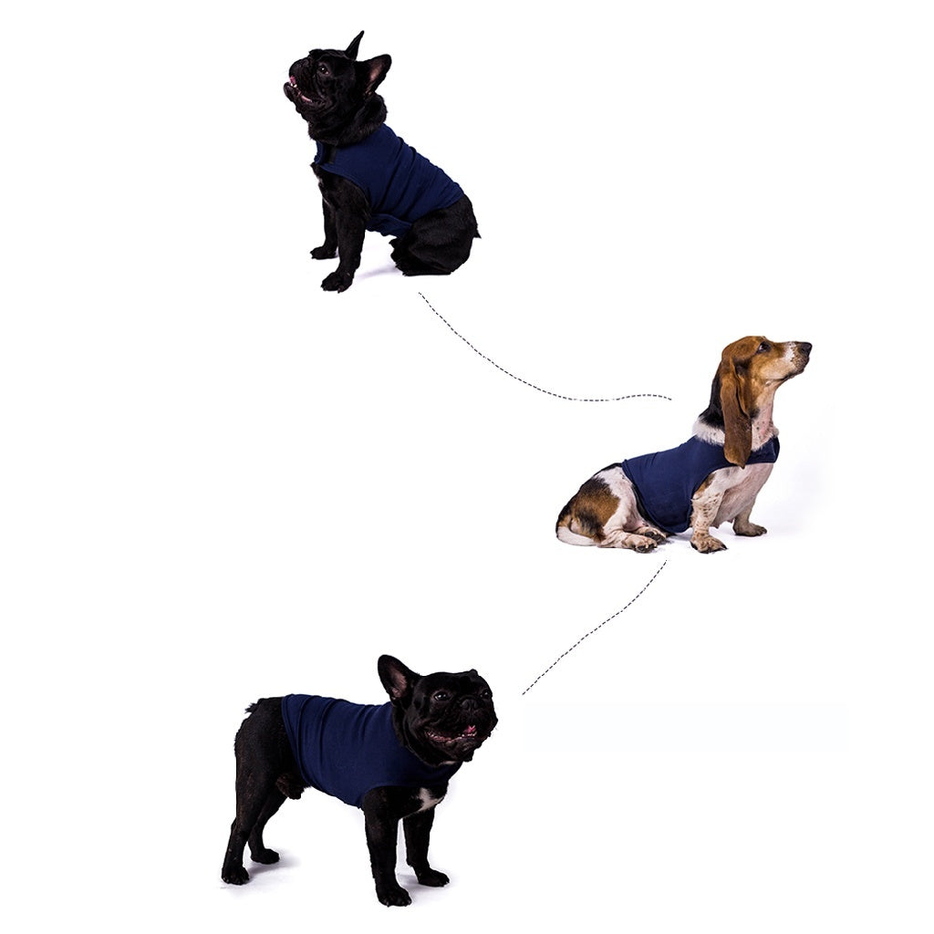 Pet Coat Anti Anxiety Dog Puppy Vest Jacket Thunder Shirt Stress Relief Calming Wrap Soft Comfortable Clothes Clothing Soothing Emotional Appease XS/S/M/L/XL YHD