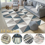 Fashion American Nordic Style Geometric Carpets for Living Room Home Bedroom Rugs Carpets Coffee Table Area Rug Play Delicate Mat