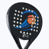 PYI Carbon Fiber Pro Tennis Padel Racket Tennis Paddle Raquete Padel Shovel Padel Pala with Cover Bag