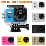 2020 Outdoor Sports Action Camera 1080P Degree Wide-Angle Lens 16MP WIFI Waterproof Sports Action Camera DVR Recorder Camcorder Go Pro