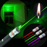 2020 New Powerful Green Red Blue Laser Pointer Pen Beam Light 5mW Professional Military High Power Presenter Lazer