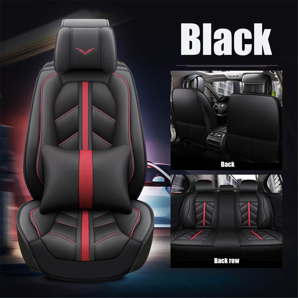 3D Fashion Luxury Microfiber Leather Universal Car Seat Cover Full Set Waterproof Car Interior Seat Cushion