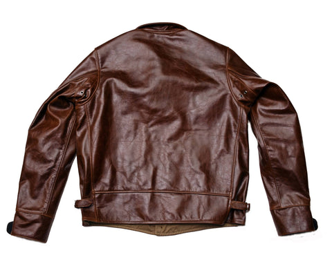 Excelsior Cossack Jacket (1929) sz 40/42 Mid Brown American Steerhide