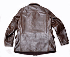 Chinook Storm Jacket (1922) Walnut Brown American Steerhide