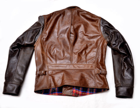 Peregrine Double Rider Jacket (1933) Two Tone American Steerhide