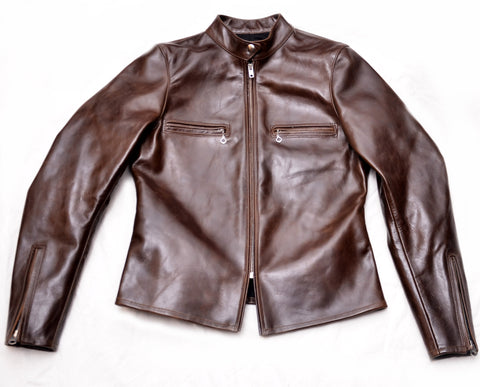 Lady Kensington Jacket (1949) Walnut Brown American Steerhide