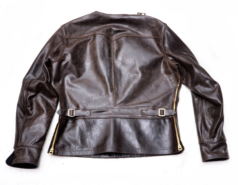 Arrowhead Pullover Racing Jacket (1939) Oak Black American Steerhide