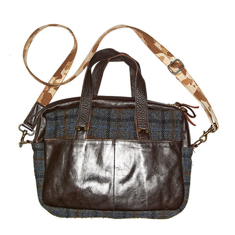 Pearson Day Bag (1944) Harris Tweed