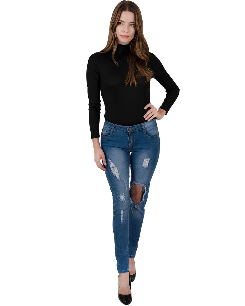 Usher Distressed Jeans - TRUTAI