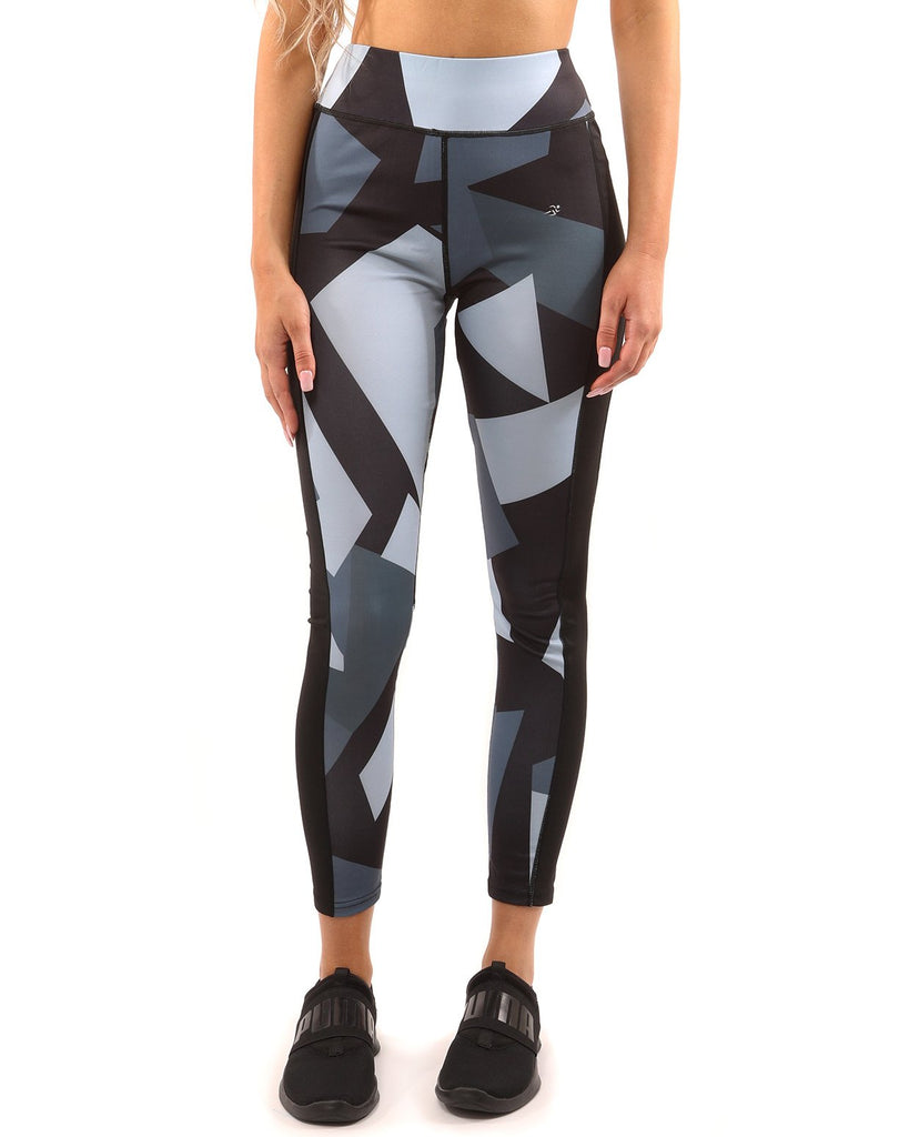 Bondi Leggings - Black/Grey - TRUTAI