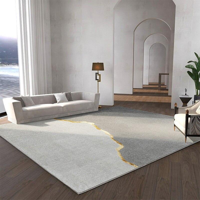 Villa Light Luxury Carpets for Living Room Home Nordic Bedroom Rug Soft Coffee Table Floor Mat Thick Polypropylene Study Rugs - TRUTAI