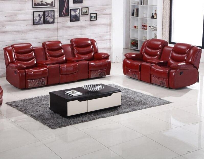 Living Room Sofa Chair With Cup Holder Recliner - TRUTAI