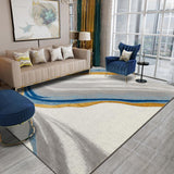 Gorgeous Nordic Squiggly Lines European Style Rug - TRUTAI