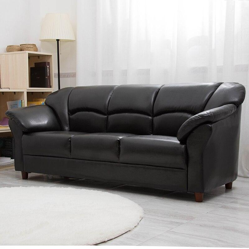 Modern Minimalist Living Room Leather Art Sofa - TRUTAI