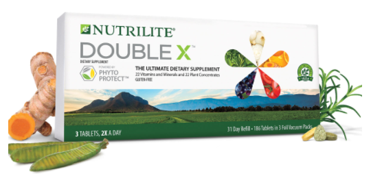 Nutrilite™ Double X™ Vitamin/Mineral/Phytonutrient Supplement - 31-Day Refill