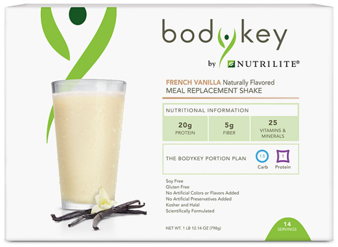 Nutrilite Meal Replacement Shake Mix Packets - French Vanilla