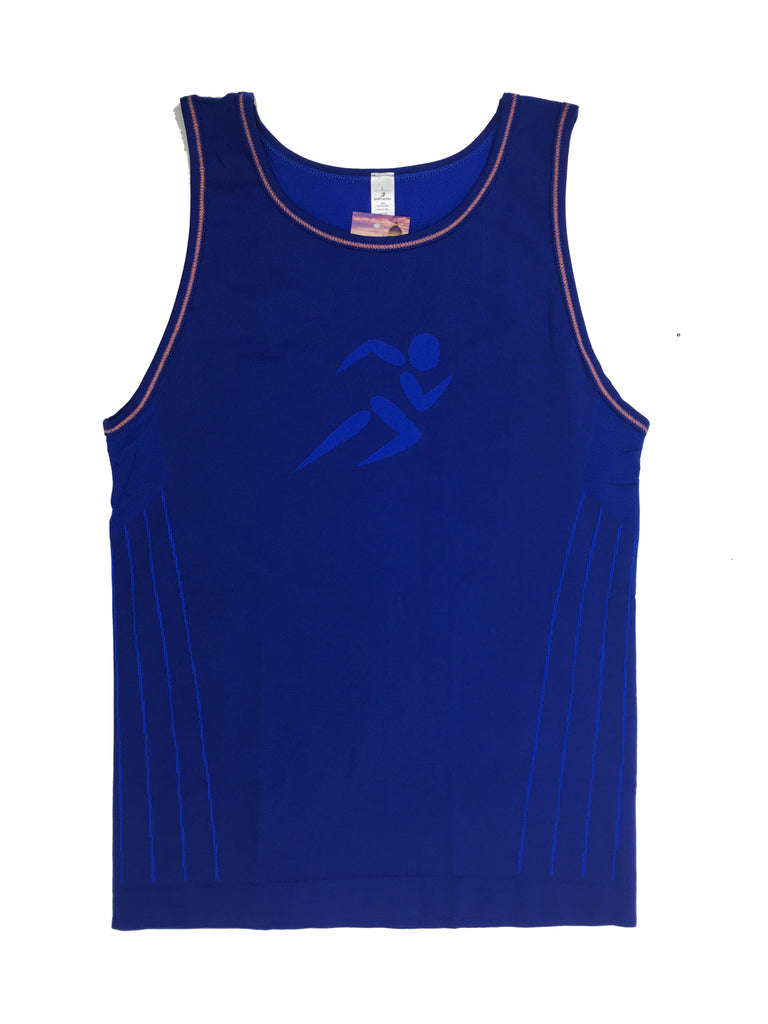 Padua Tank Top - Blue [MADE IN ITALY] - TRUTAI