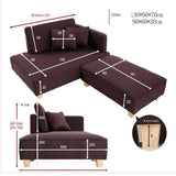 Combination Chaise Longue Living Room Sofa - TRUTAI