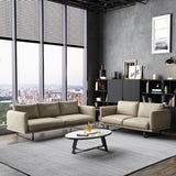 Luxury Leisure Leather Simple Modern Sofa - TRUTAI