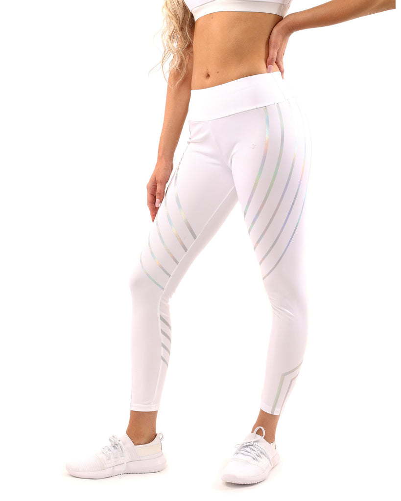 Laguna Leggings - White - TRUTAI