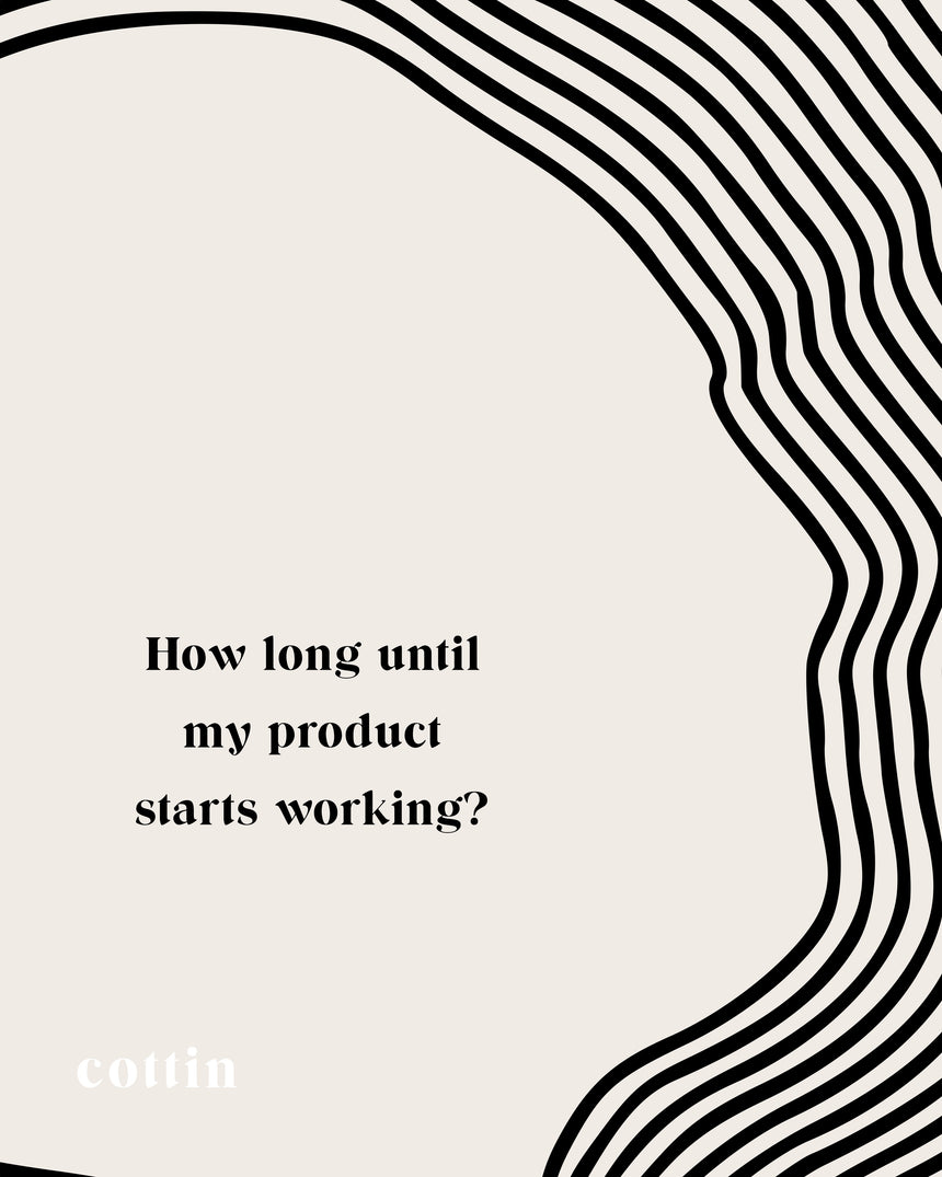 How long until my Products start working?