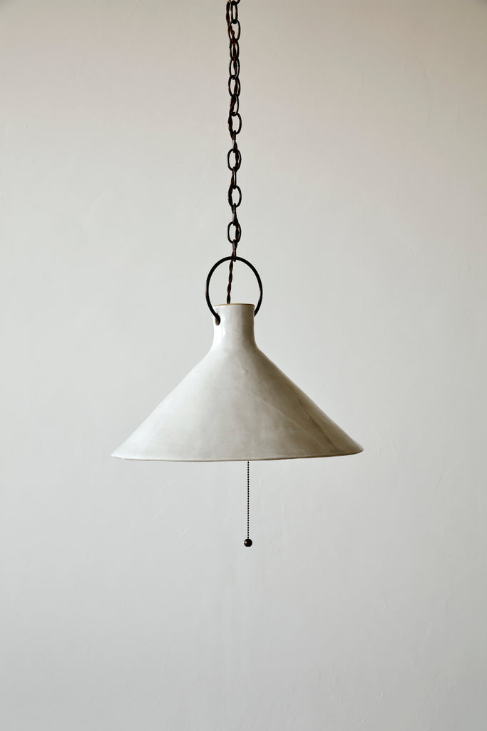 3XL Ceramic Funnel Light - Pendant - Natalie Page - NPAGE Studio