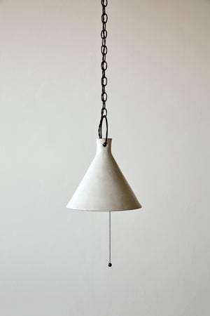 Extra Large Ceramic Funnel Light - Pendant - Natalie Page - Npage Studio