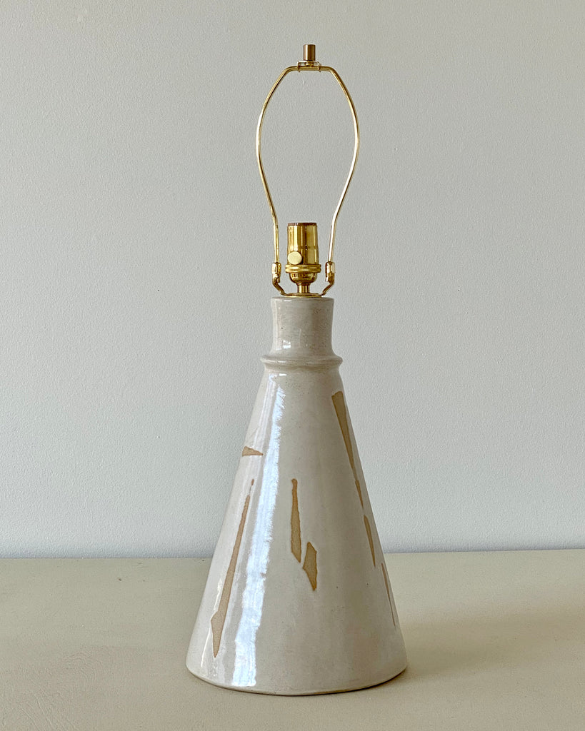Torn White Table Lamp - 2