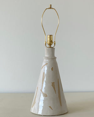 Torn White Table Lamp - 1