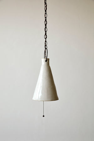 Tall Cone Funnel Light - Pendant - Natalie Page - Npage Studio