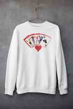 Load image into Gallery viewer, Cards Crewneck