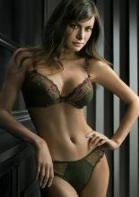 Fashion Bra With Floral Lace (80588)