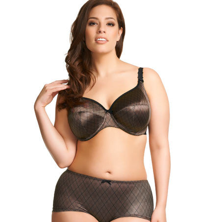 Eva Black Bandless Bra