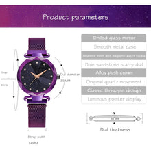 Load image into Gallery viewer, Ladies Magnetic Starry Sky Watch