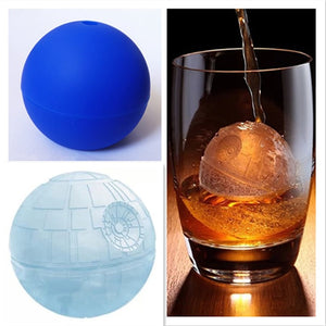 Death Star Silicone Ice Cube Mold
