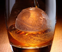 Load image into Gallery viewer, Death Star Silicone Ice Cube Mold