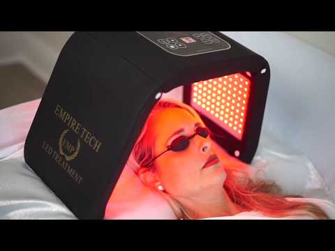 Escomart™ LED Light Facial Skin Therapy.