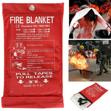 Load image into Gallery viewer, Emergency Sealed Fire Extinguishers Blanket