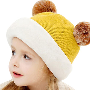 Baby Winter Hooded Beanies Hats
