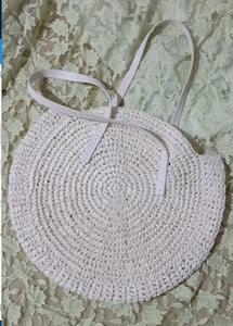 Round Straw Bags
