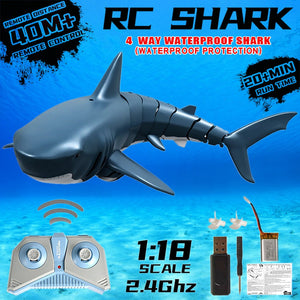 Radio Remote Control Electronic Shark