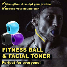 Load image into Gallery viewer, JawLine Muscle Ball Neck Face Exerciser