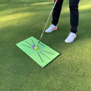 Golf Training Mat for Swing Detection Batting