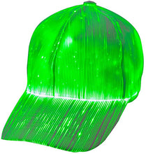 Load image into Gallery viewer, Fiber Optic Cap LED hat