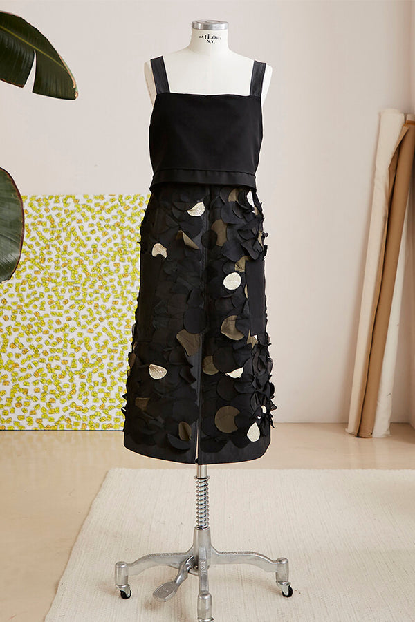 APRON reversible up-cycled black
