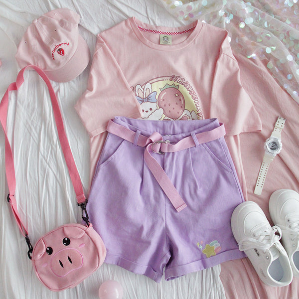 Strawberry Rabbit Tee