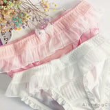 Cotton Bow Low Waist Underpanties