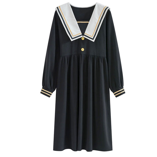 Japanese Navy Dress